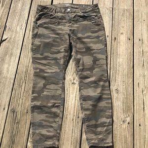 ANA 16 camouflage jeggings camo pants a.n.a.